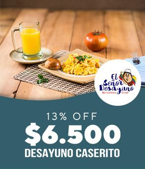 13% OFF Desayuno Caserito