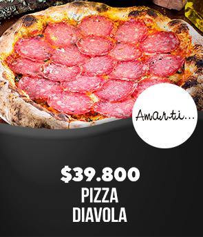 Amarti: Pizza Diavola