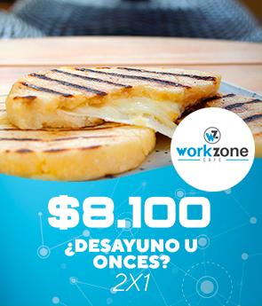 workzone: ¿Desayuno o onces? 2x1