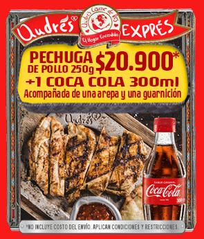 Andrés Pechuga + Coca-Cola pepe sierra