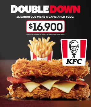 Combo DoubleDown por $16.900