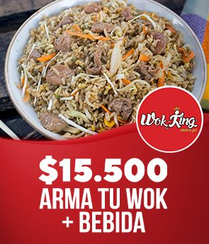 Wokking Wok To Go: Arma tu wok + bebida