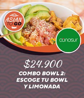 Combo Bowl 2: Escoge tu Bowl y Limonada