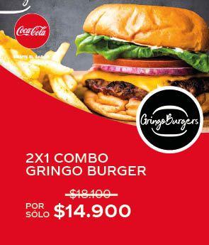 2x1 combo Gringo Burger