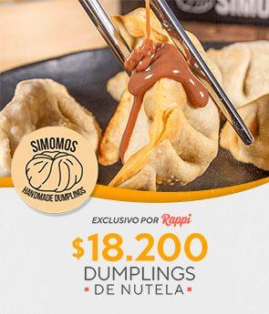 Dumplings de Nutela x 18200