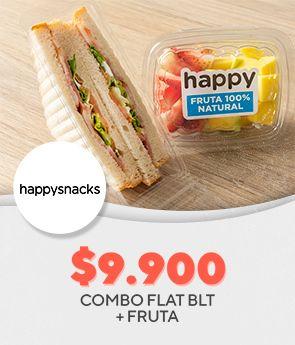 Combo Flat Blt + Fruta