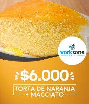 Torta de Naranja + Macciato