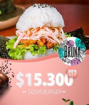 Sushi Burger 30% OFF