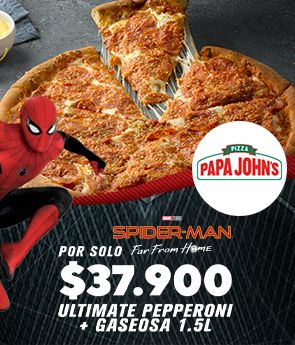 Ultimate pepperoni + gaseosa 1.5 lt