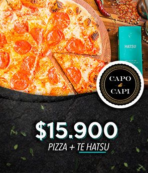 Pizza + Te hatsu
