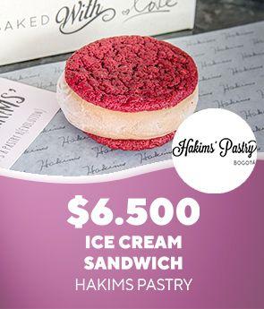 Ice Cream Sandwich Hakims Pastry