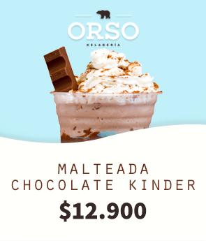 Compra la deliciosa malteada Chocalate Kinder por 12.900
