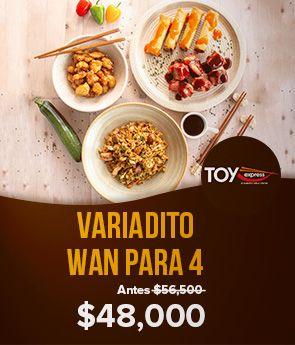 Toy Express Nuevo variadito wan food porn